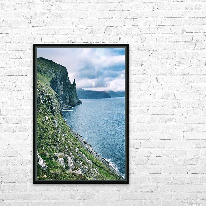 Trøllkonufingur HD Sublimation Metal print with Decorating Float Frame (BOX)
