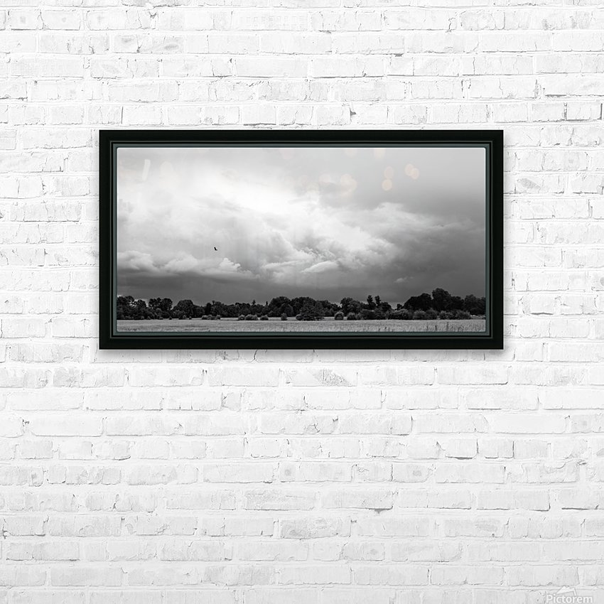 Merton Field HD Sublimation Metal print with Decorating Float Frame (BOX)