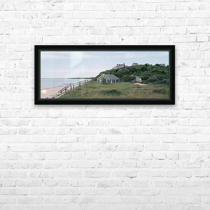 Corn Hill Beach HD Sublimation Metal print with Decorating Float Frame (BOX)
