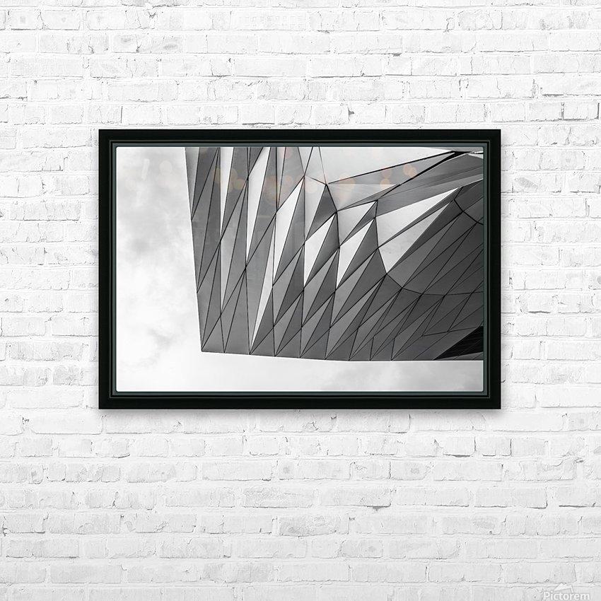 Musée des Confluences HD Sublimation Metal print with Decorating Float Frame (BOX)