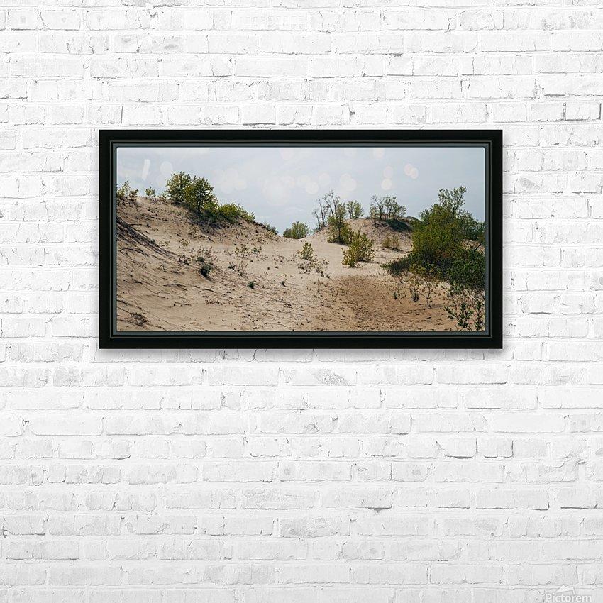 Sandbanks 2 HD sublimation métal imprimé avec décoration flotteur cadre (boîte)