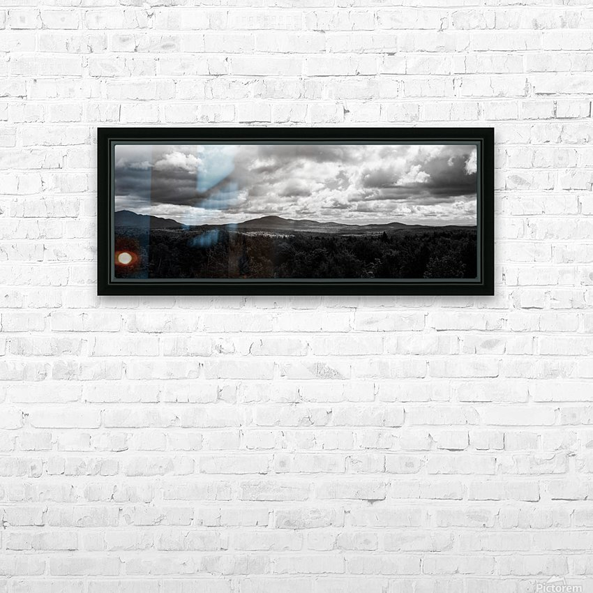 Matin Morne HD Sublimation Metal print with Decorating Float Frame (BOX)
