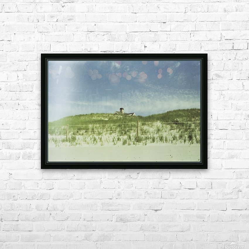 Dunes HD Sublimation Metal print with Decorating Float Frame (BOX)