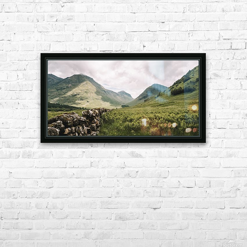 Parc de Glencoe 1 HD Sublimation Metal print with Decorating Float Frame (BOX)