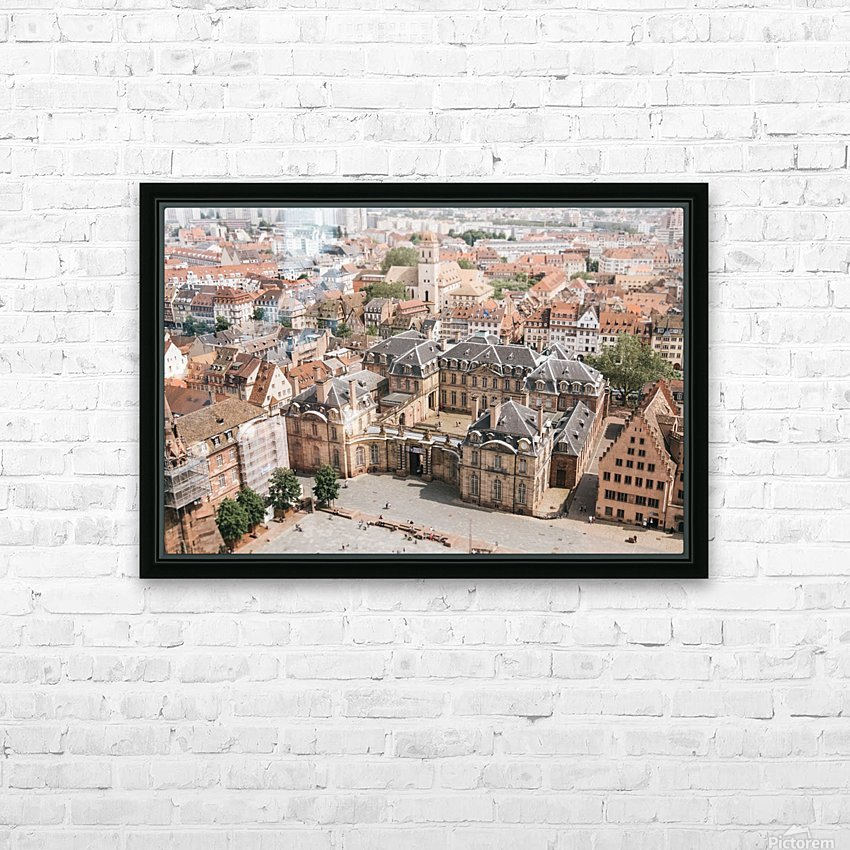 Palais Rohan Strasbourg HD Sublimation Metal print with Decorating Float Frame (BOX)