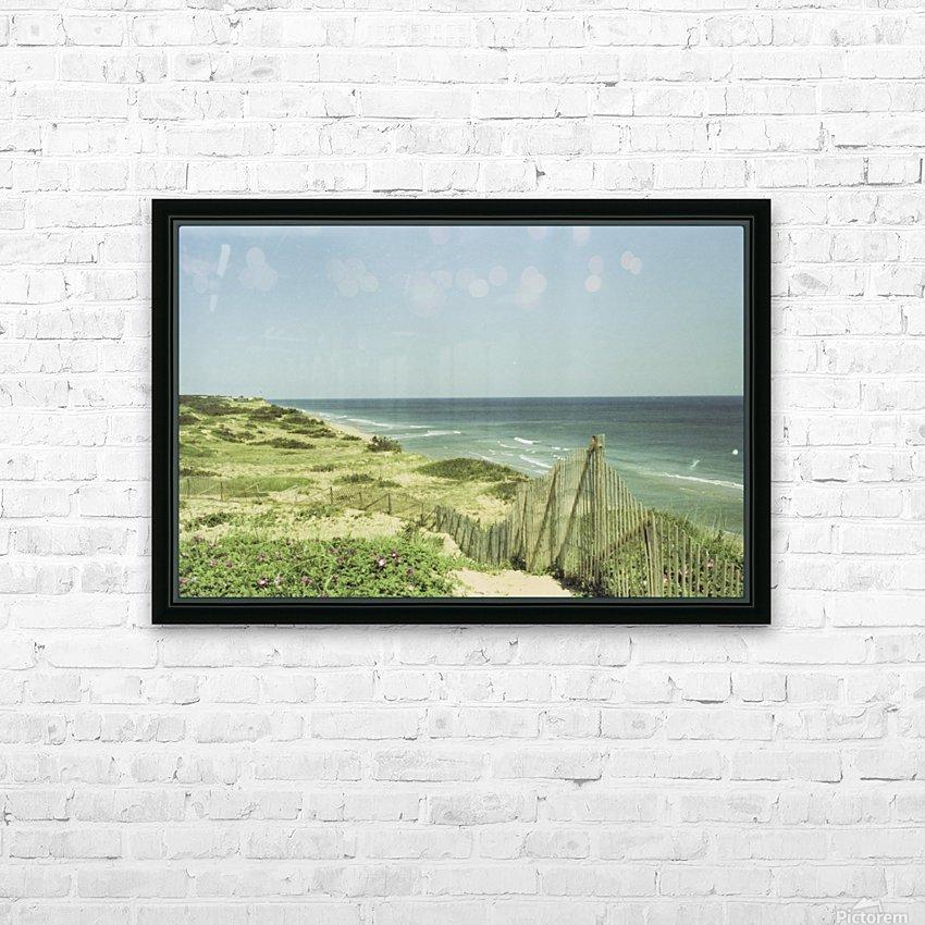 Marconi Beach HD sublimation métal imprimé avec décoration flotteur cadre (boîte)