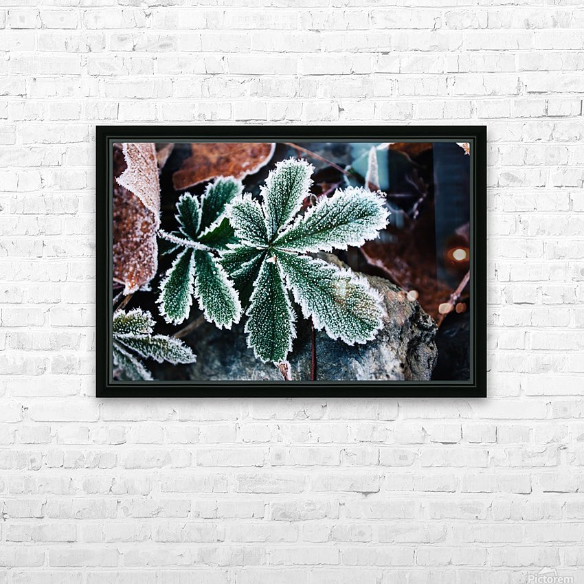 Feuilles Croquantes HD Sublimation Metal print with Decorating Float Frame (BOX)