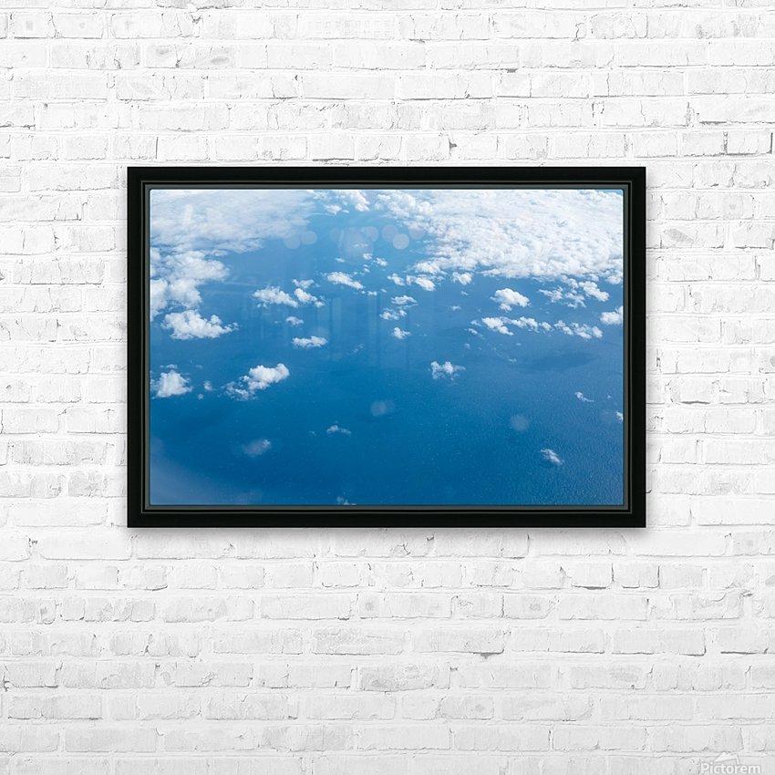 Océan Atlantique HD sublimation métal imprimé avec décoration flotteur cadre (boîte)