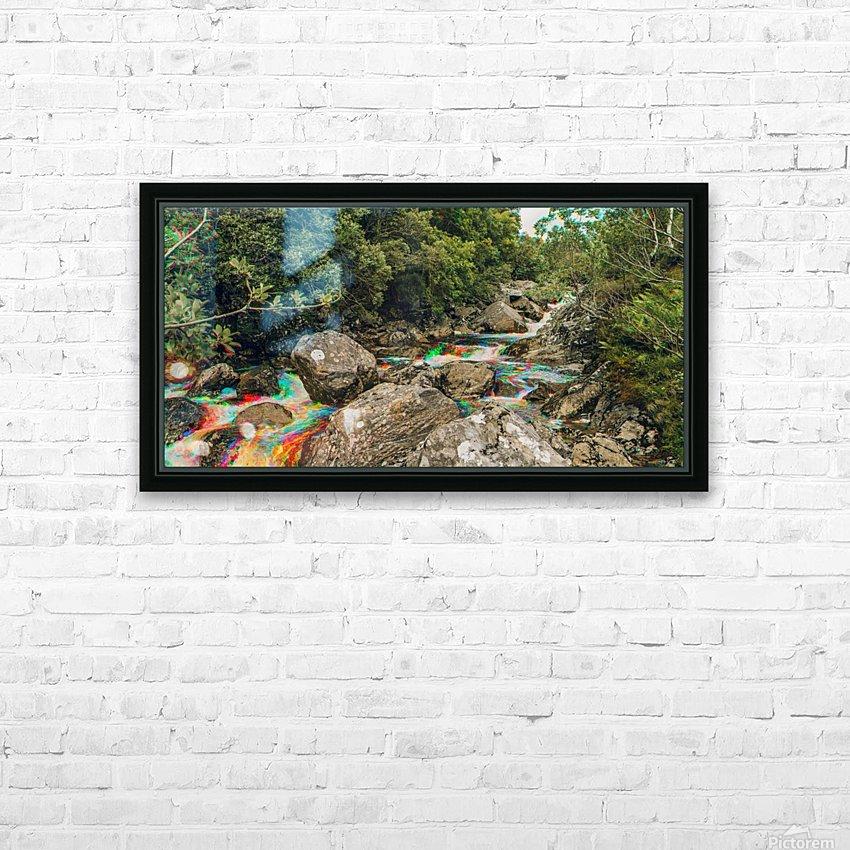 Glen Shiel River - Colorflow 3 HD Sublimation Metal print with Decorating Float Frame (BOX)
