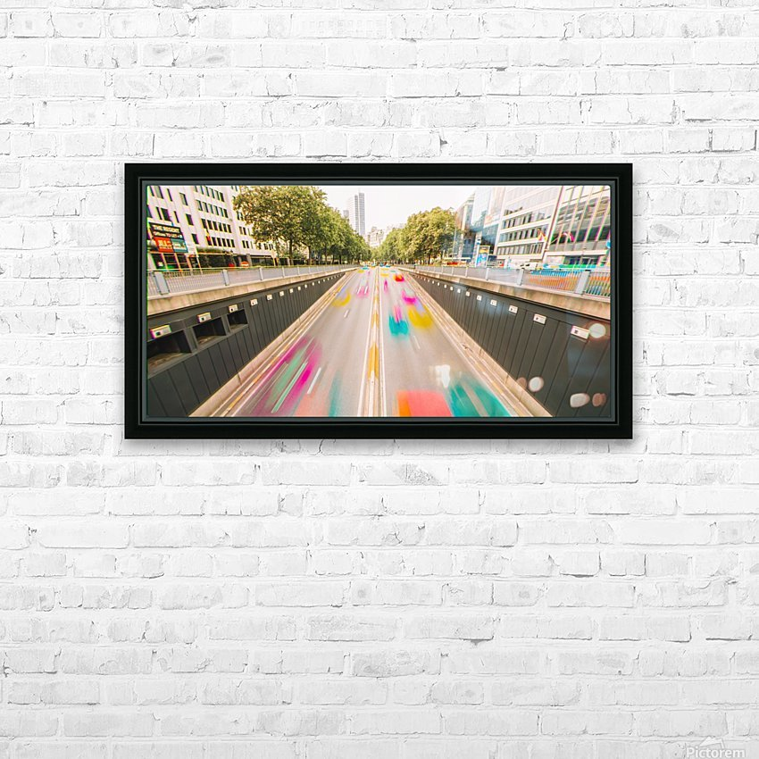 Bruxelles - Colorflow HD Sublimation Metal print with Decorating Float Frame (BOX)