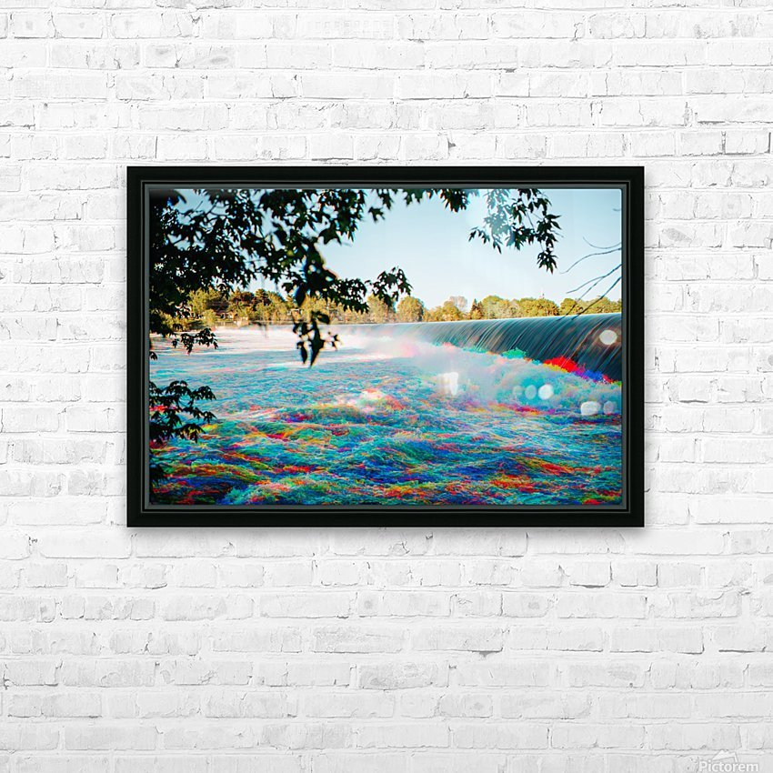 Chambly - Colorflow HD Sublimation Metal print with Decorating Float Frame (BOX)