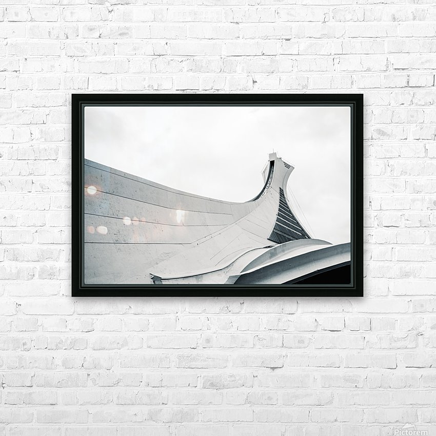 Stade Olympique HD Sublimation Metal print with Decorating Float Frame (BOX)