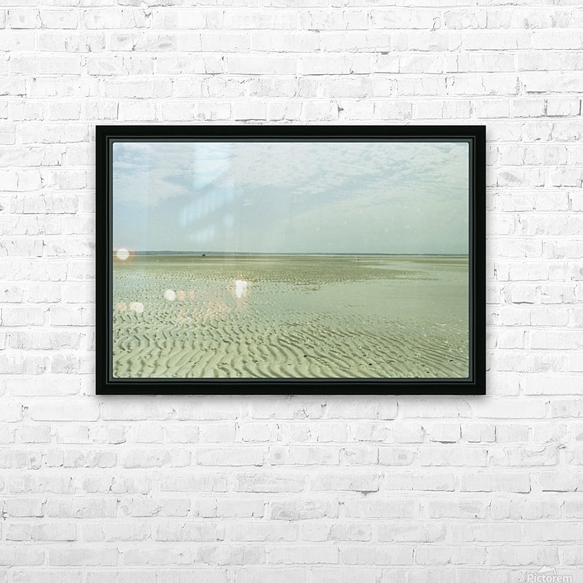 Mayflower Beach 2 HD Sublimation Metal print with Decorating Float Frame (BOX)