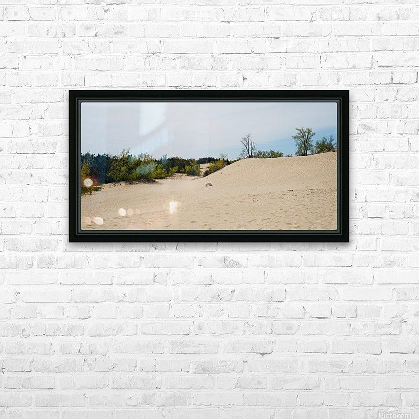 Sandbanks 1 HD sublimation métal imprimé avec décoration flotteur cadre (boîte)