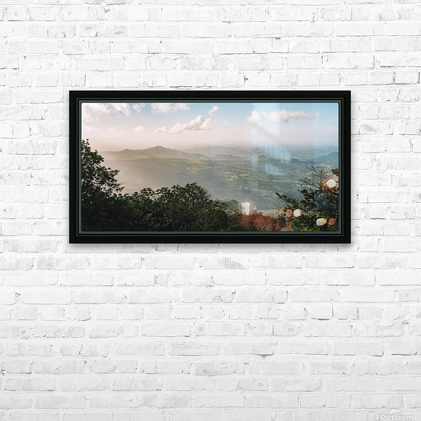 El Chino HD Sublimation Metal print with Decorating Float Frame (BOX)