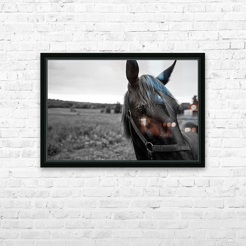 G R I T HD Sublimation Metal print with Decorating Float Frame (BOX)