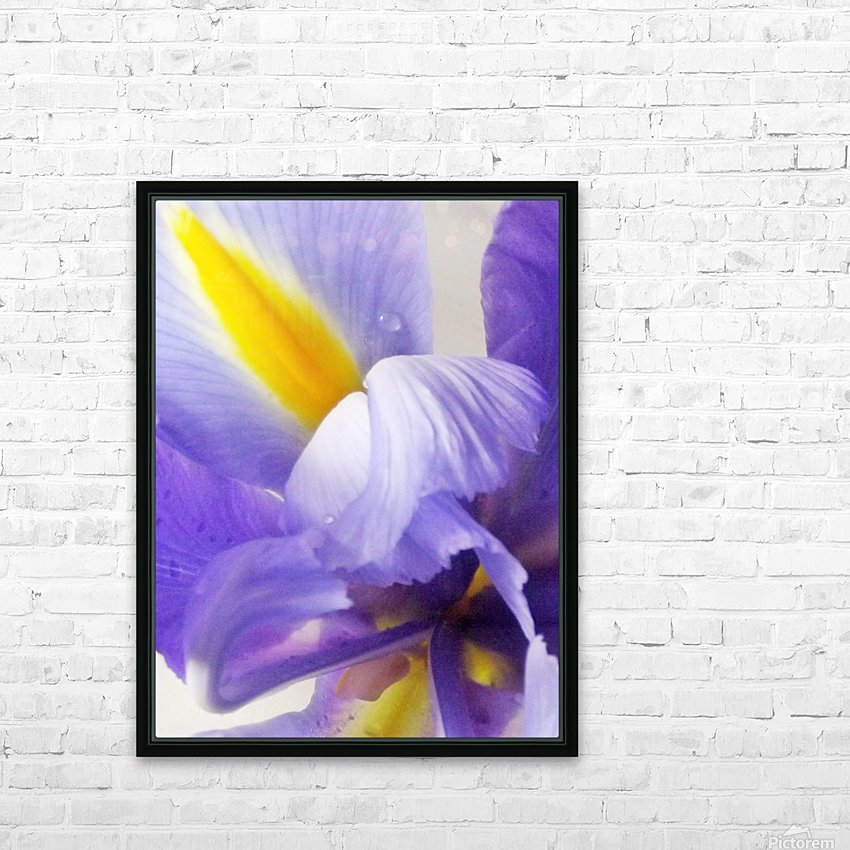Inner Iris HD Sublimation Metal print with Decorating Float Frame (BOX)
