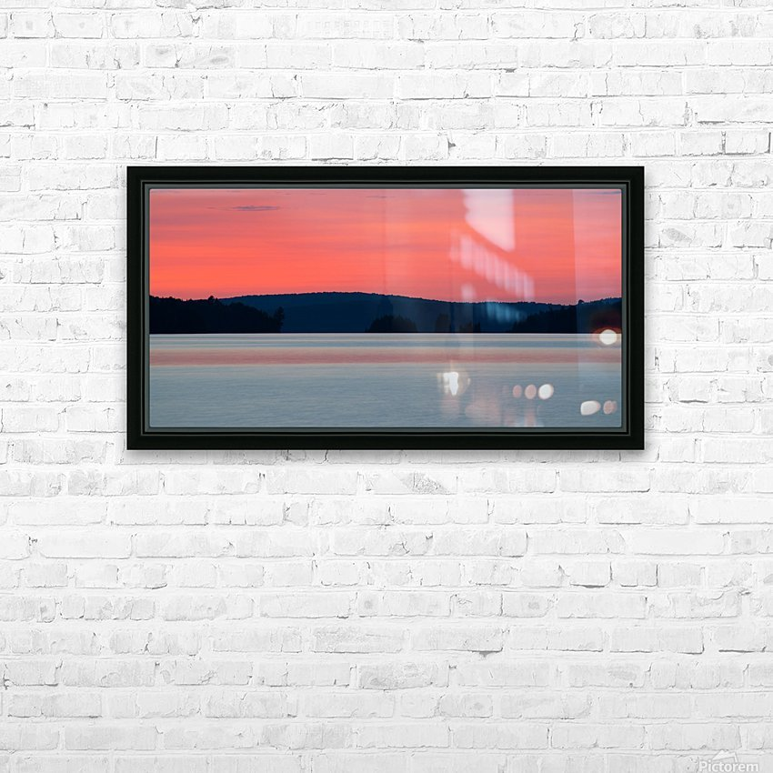 Opeongo North HD Sublimation Metal print with Decorating Float Frame (BOX)