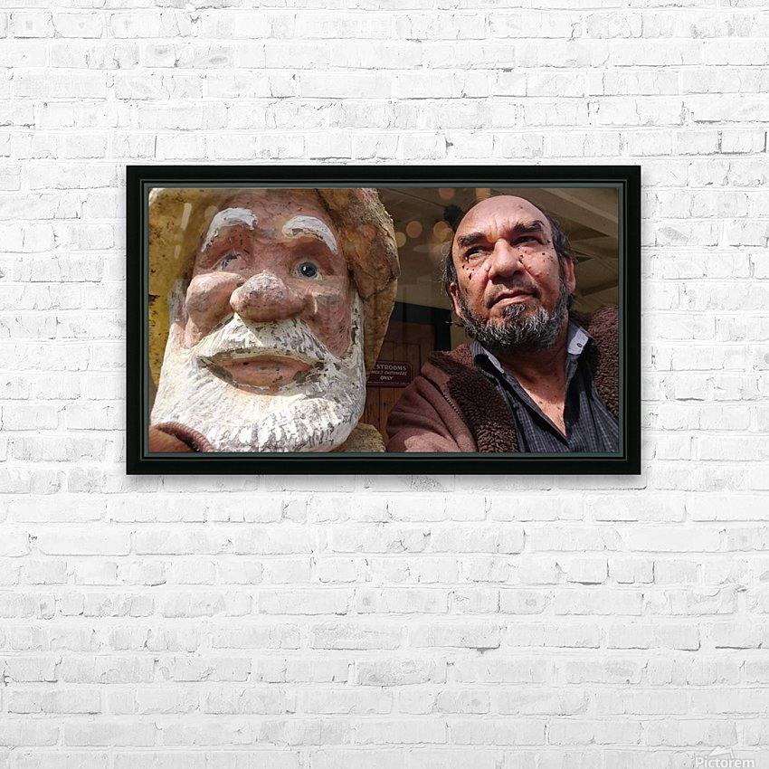 ahson qazi_self Portrait_artist_painter_calligrapher_Shades of divinity_Photographer 2 HD Sublimation Metal print with Decorating Float Frame (BOX)