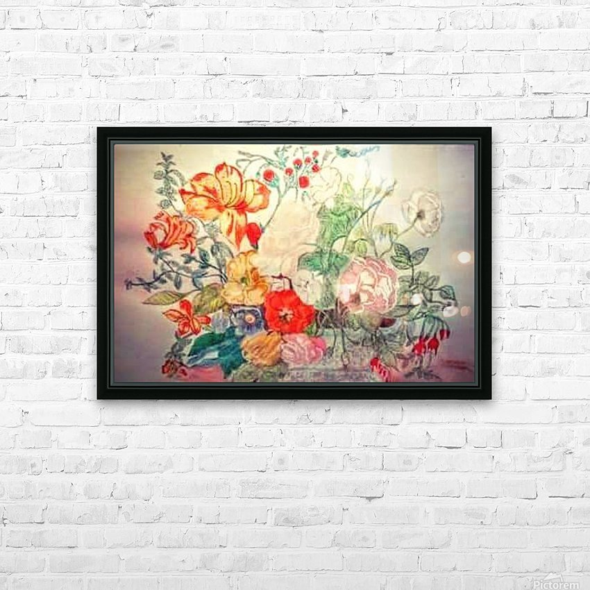 Bouquet of 10000 Colors HD Sublimation Metal print with Decorating Float Frame (BOX)