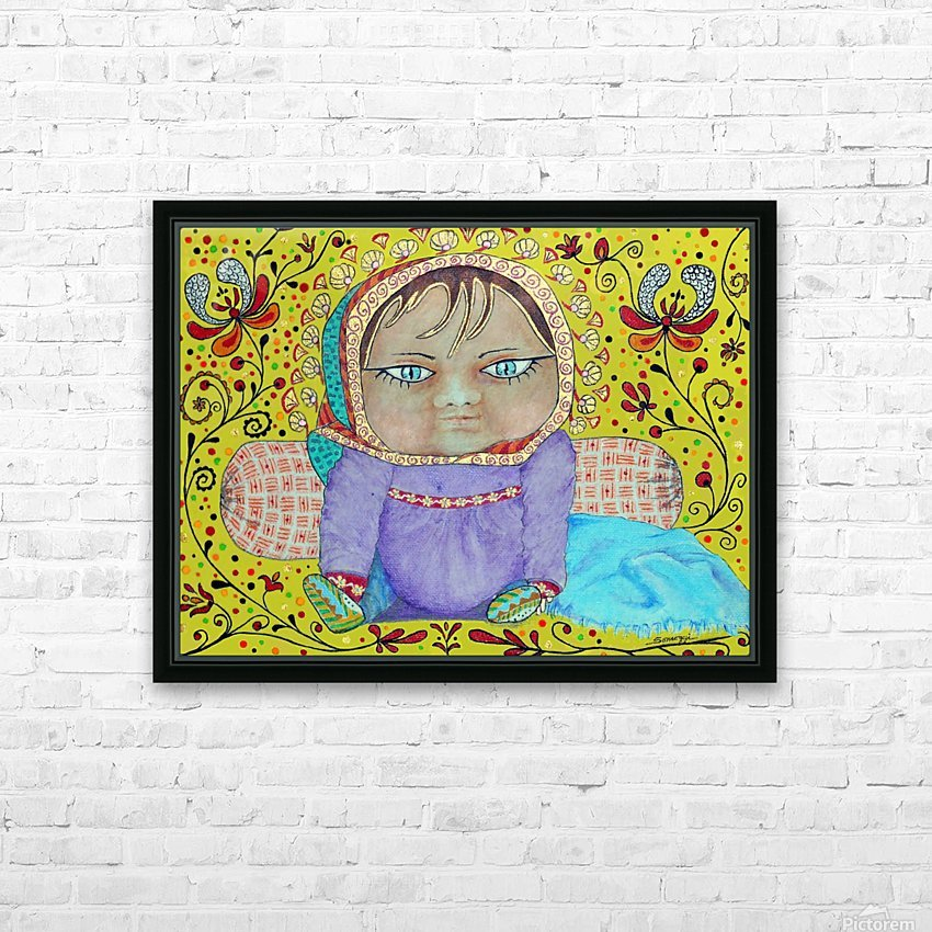 Hungarian Lullaby HD Sublimation Metal print with Decorating Float Frame (BOX)