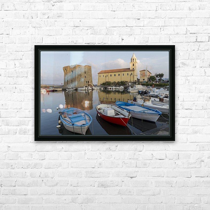 Acciaroli HD Sublimation Metal print with Decorating Float Frame (BOX)