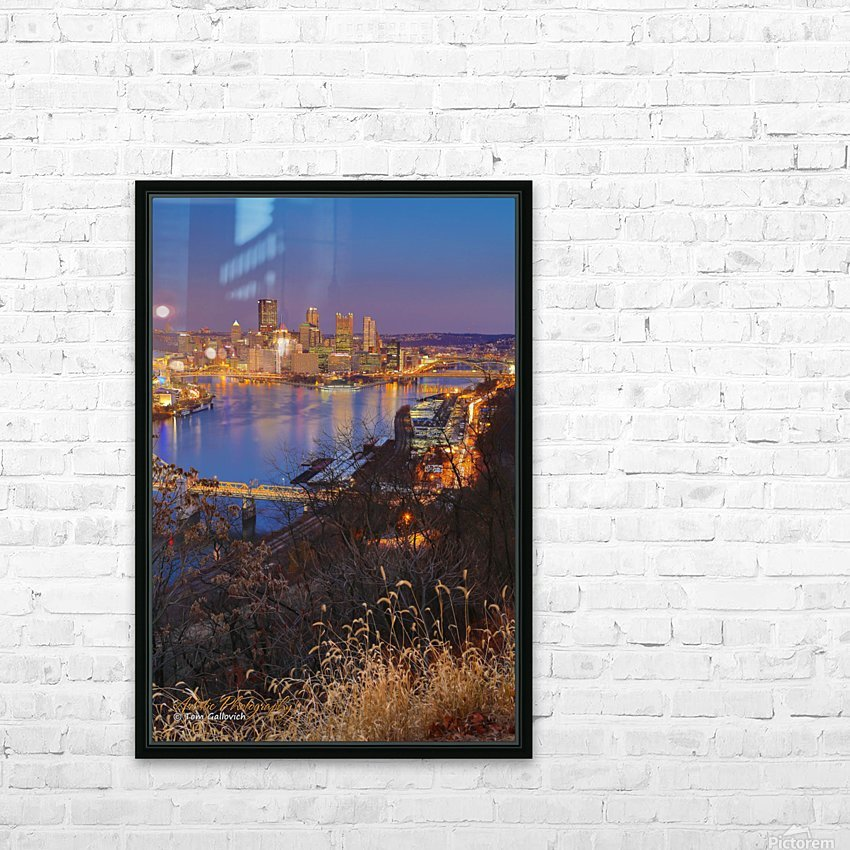 Light Up Night - APC-197 HD Sublimation Metal print with Decorating Float Frame (BOX)