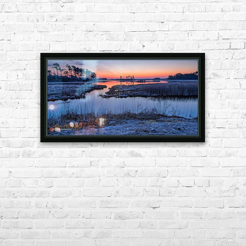 Black Duck Pool - APC-376 HD Sublimation Metal print with Decorating Float Frame (BOX)
