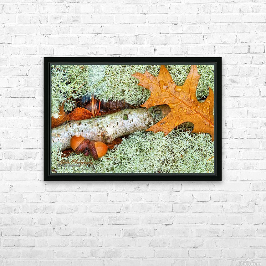 Pin Oak - APC-118 HD Sublimation Metal print with Decorating Float Frame (BOX)