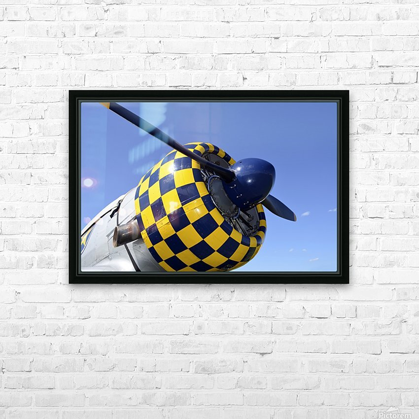 stk105465m HD Sublimation Metal print with Decorating Float Frame (BOX)