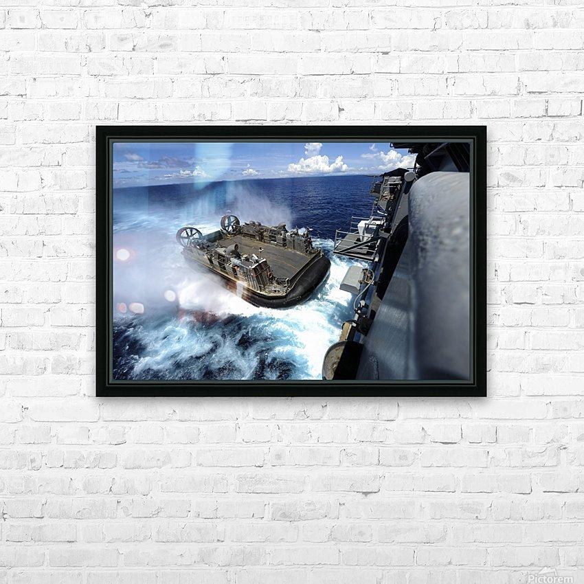 stk106309m HD sublimation métal imprimé avec décoration flotteur cadre (boîte)