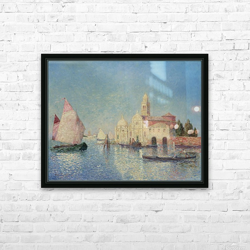 The Belfry of Croisic HD Sublimation Metal print with Decorating Float Frame (BOX)