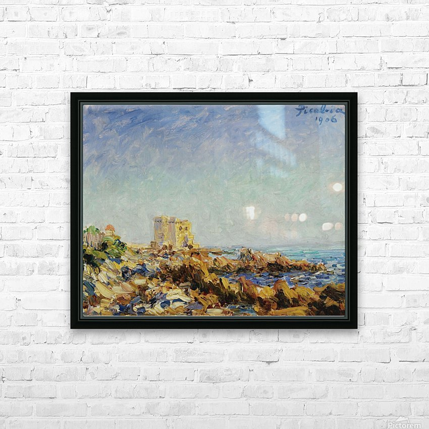 Lile Saint-Honorat HD Sublimation Metal print with Decorating Float Frame (BOX)