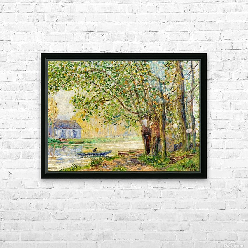 Moret-sur-Loing HD Sublimation Metal print with Decorating Float Frame (BOX)