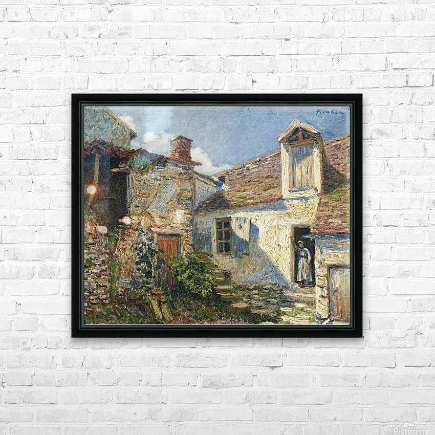 The Farmyard, Moret HD Sublimation Metal print with Decorating Float Frame (BOX)