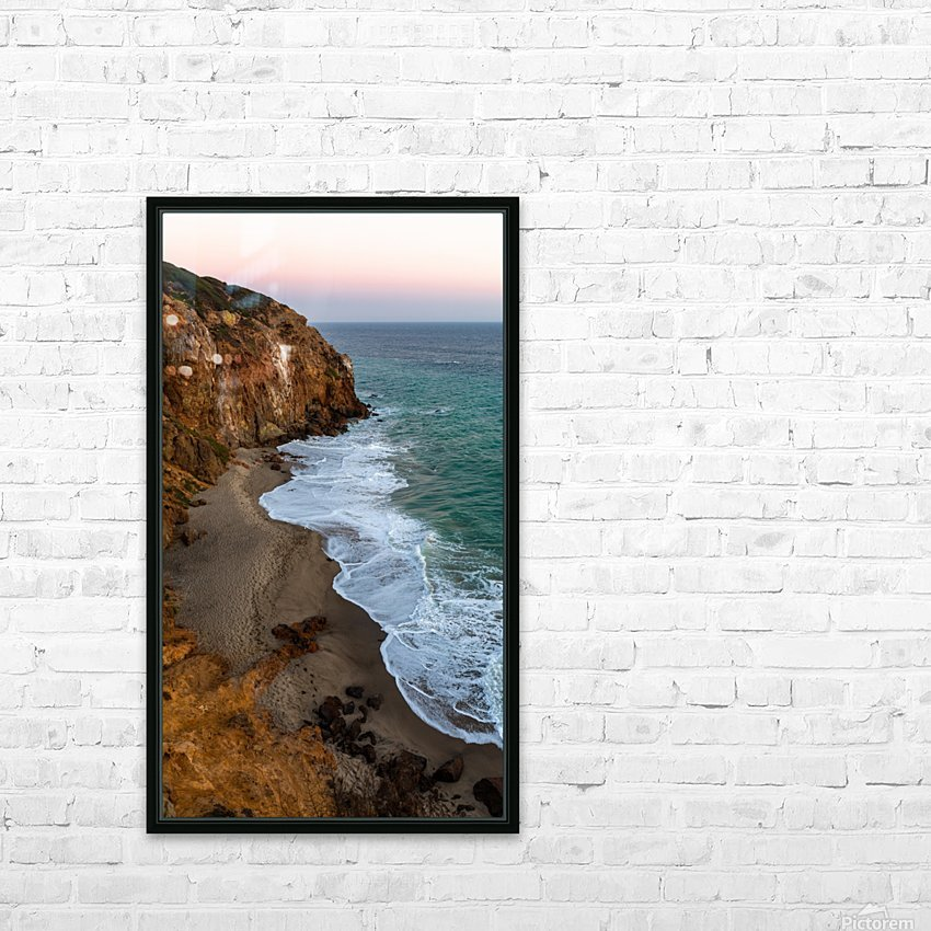 High Tide HD Sublimation Metal print with Decorating Float Frame (BOX)