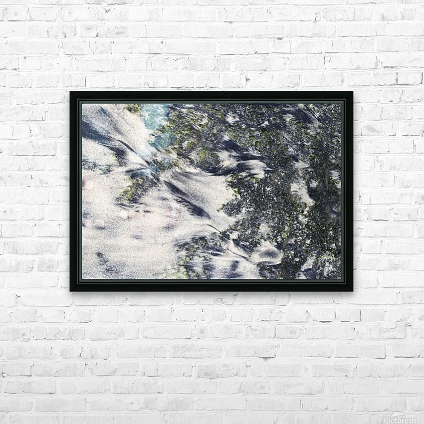 The Ocean Sand HD Sublimation Metal print with Decorating Float Frame (BOX)