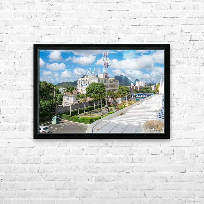 1 45 HD Sublimation Metal print with Decorating Float Frame (BOX)