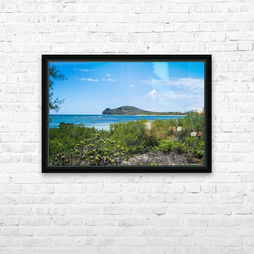 1 88 HD Sublimation Metal print with Decorating Float Frame (BOX)