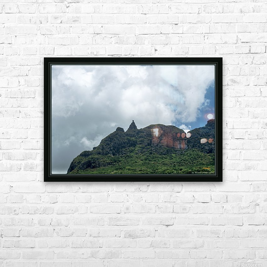 1 89 HD Sublimation Metal print with Decorating Float Frame (BOX)
