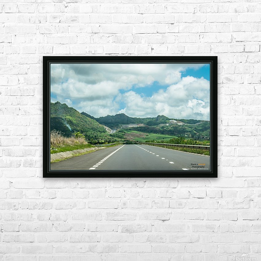 1 151 HD Sublimation Metal print with Decorating Float Frame (BOX)