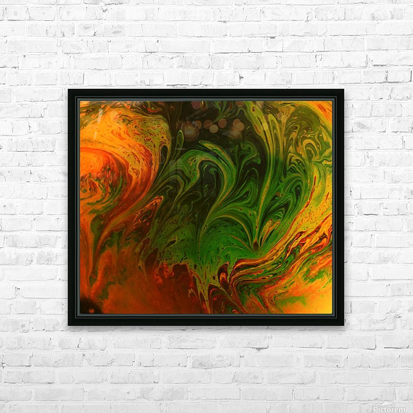 Bubbles Reimagined 36 HD Sublimation Metal print with Decorating Float Frame (BOX)
