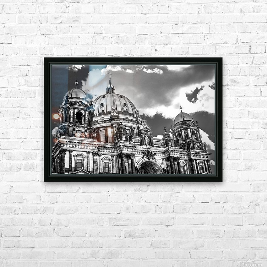 Berliner Dom HD Sublimation Metal print with Decorating Float Frame (BOX)