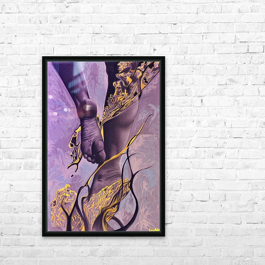 Invisible Reality HD Sublimation Metal print with Decorating Float Frame (BOX)