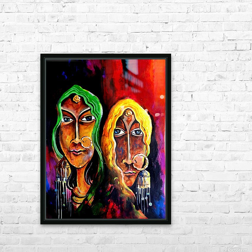 Abstract Figurative 2 2018 HD Sublimation Metal print with Decorating Float Frame (BOX)