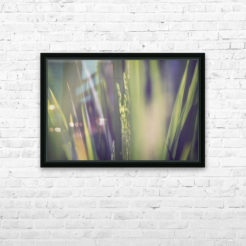 Shining out from Inside HD Sublimation Metal print with Decorating Float Frame (BOX)