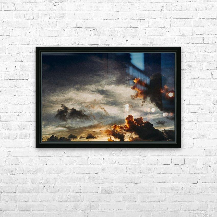 Lanikai Sunrise HD Sublimation Metal print with Decorating Float Frame (BOX)