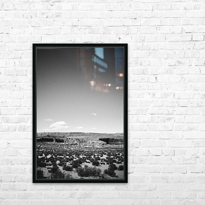 Saguaro Golden Hours HD Sublimation Metal print with Decorating Float Frame (BOX)