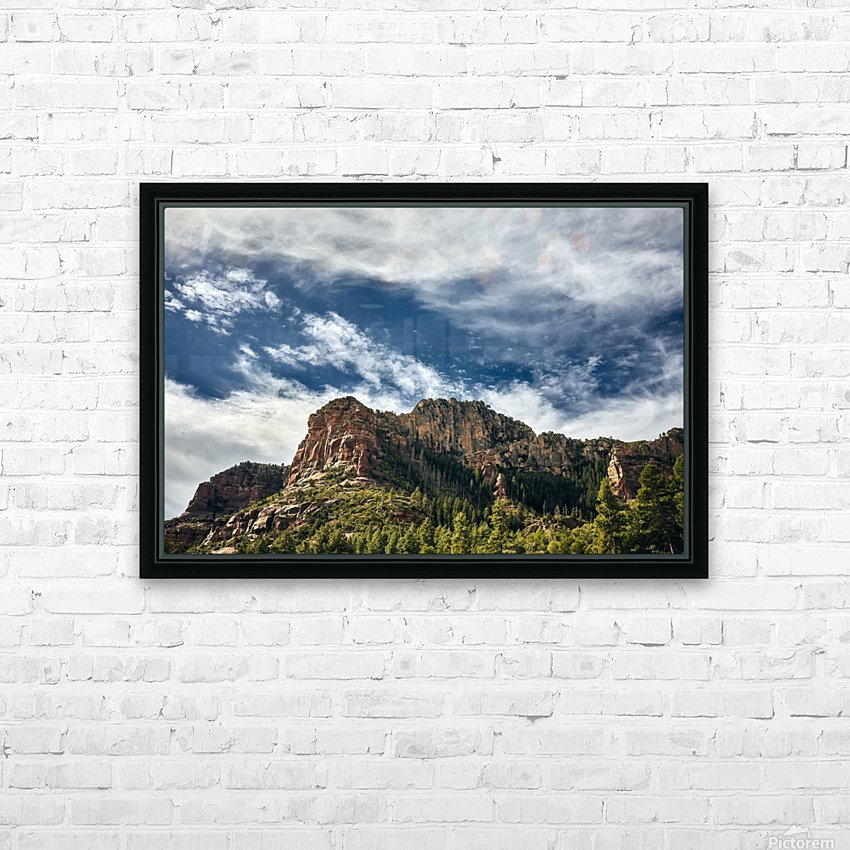 Southwest Sky HD Sublimation Metal print with Decorating Float Frame (BOX)