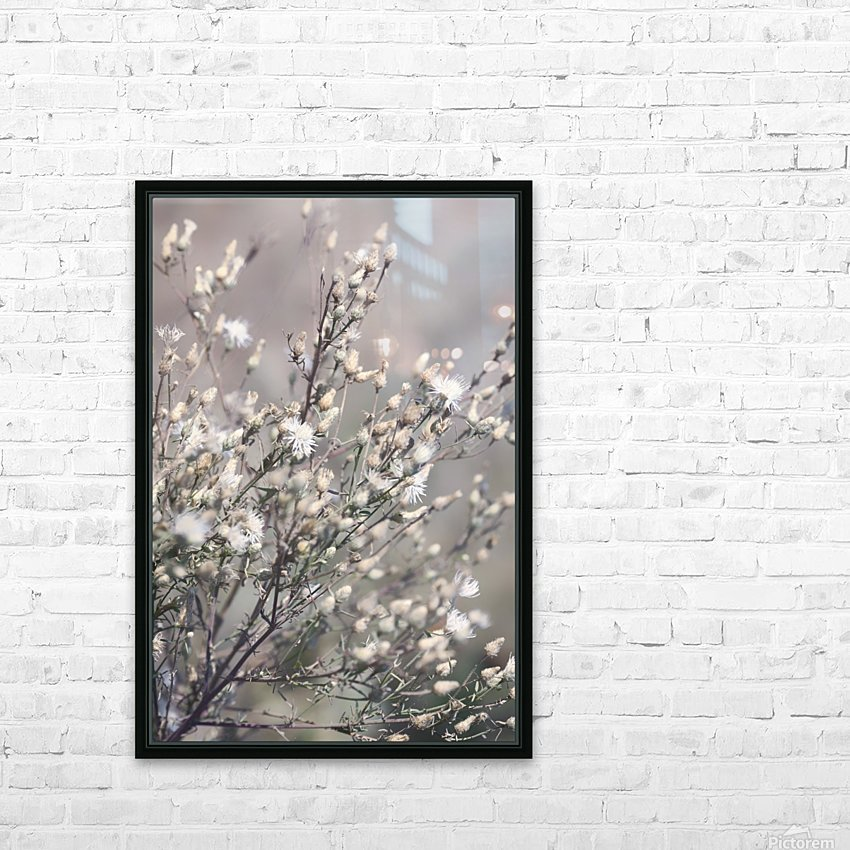Wild Field Flowers HD Sublimation Metal print with Decorating Float Frame (BOX)